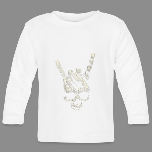 Mano Skull - Camiseta manga larga bebé
