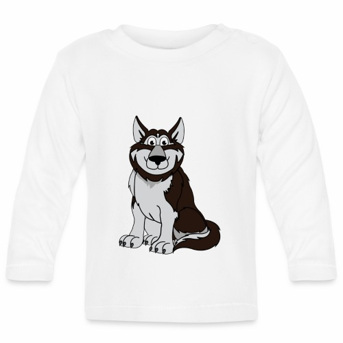 Husky - Baby Langarmshirt