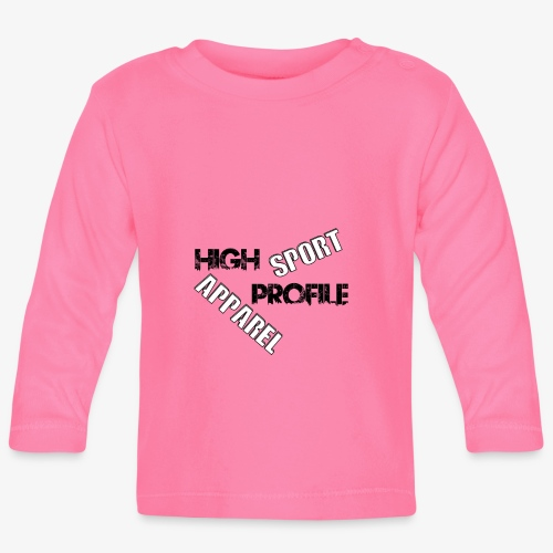 HIGH PROFILE SPORT - Baby Long Sleeve T-Shirt