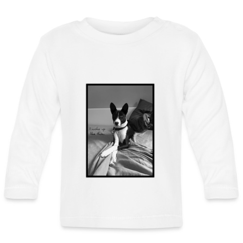 Piratethebasenji - T-shirt manches longues Bébé
