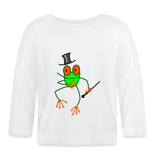 Dancing Frog - Baby Long Sleeve T-Shirt