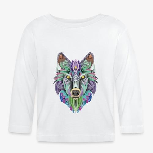 totem of the wolf - T-shirt manches longues Bébé