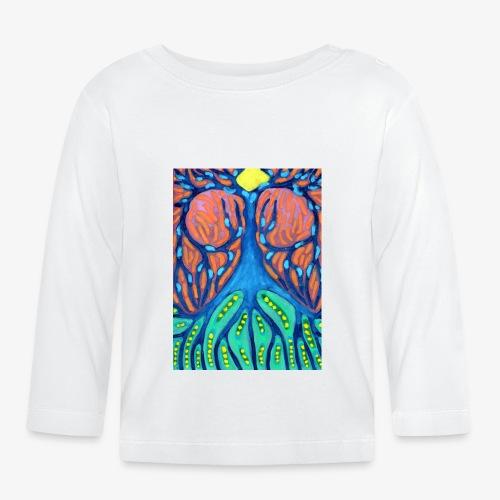 Drapieżne Drzewo - Koszulka niemowlęca z długim rękawem