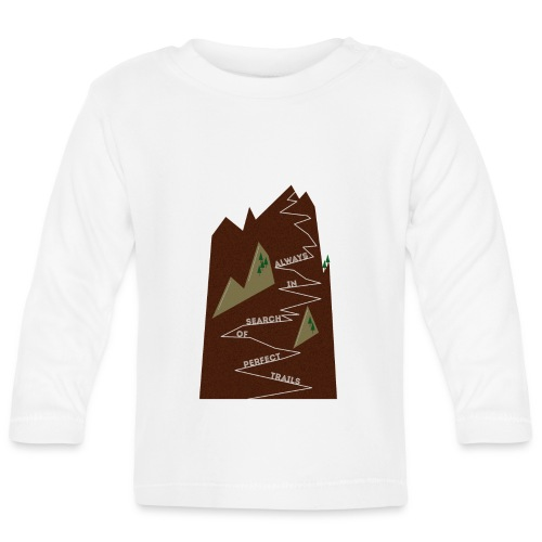Trails • Trail • Singletrail II - Baby Langarmshirt