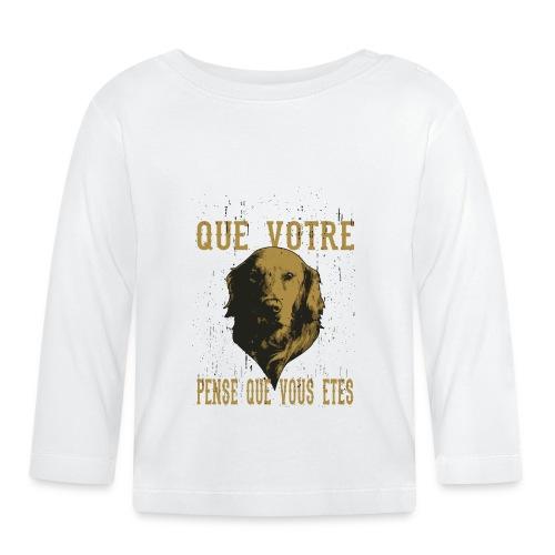 Un amour de chien - T-shirt manches longues Bébé