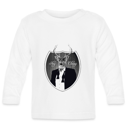 Deer in tuxedo - Baby Long Sleeve T-Shirt