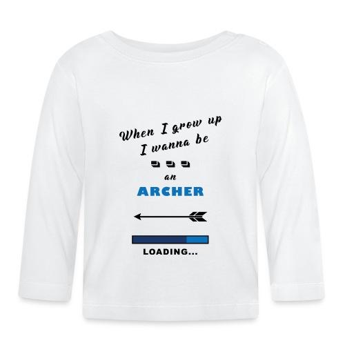 when i grow up archer - Maglietta a manica lunga per bambini