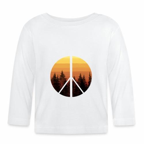 peace and sun - T-shirt manches longues Bébé