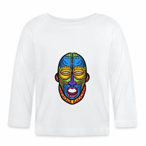 Máscara - Camiseta manga larga bebé