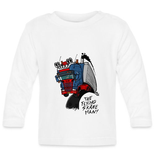 The flying skane man - T-shirt