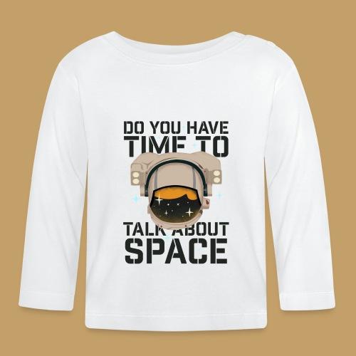 Time for Space - Koszulka niemowlęca z długim rękawem