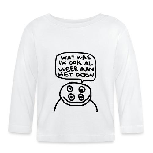 watwasikookalweeraanhetdoen - T-shirt