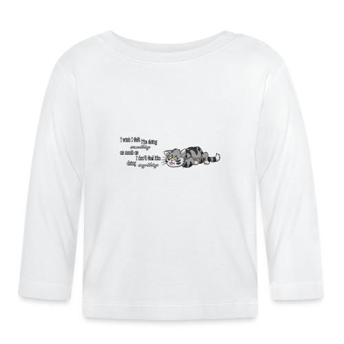 I Wish I Felt Like... (Horizontal) - Koszulka niemowlęca z długim rękawem