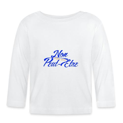 BELGIAN-NONPEUTETRE - T-shirt manches longues Bébé