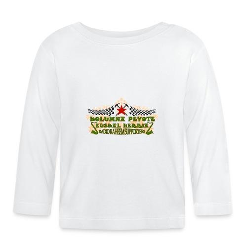 kolumna_peyote_euskadi - Camiseta manga larga bebé