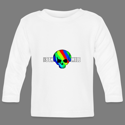 Colorful Skull Logo - Baby Long Sleeve T-Shirt