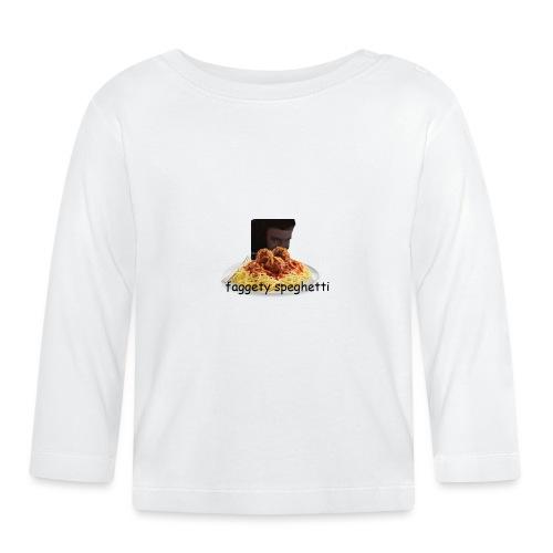 Fagetty Spaghetti (impact) - Baby Long Sleeve T-Shirt
