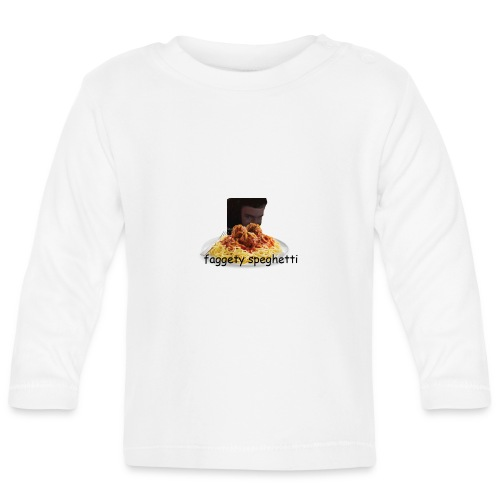 Fagetty Spaghetti (impact) - Baby Long Sleeve T-Shirt