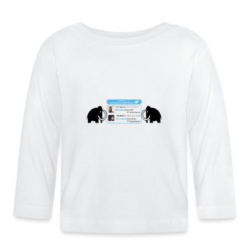 homo-sapiens et néandertal - T-shirt manches longues Bébé