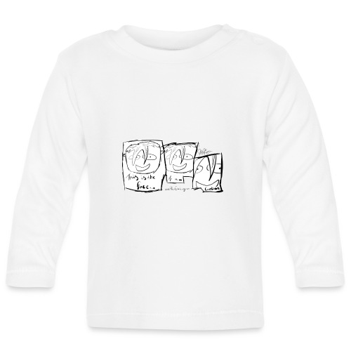 This Is The Face Comic | Peter Eric Lang - Baby Long Sleeve T-Shirt