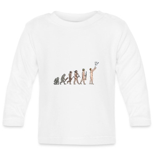 Evolution of Peace - Baby Long Sleeve T-Shirt