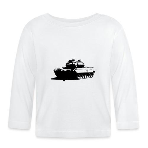 Leopard 2 Kampfpanzer - Stridsvagn 122 - Långärmad T-shirt baby