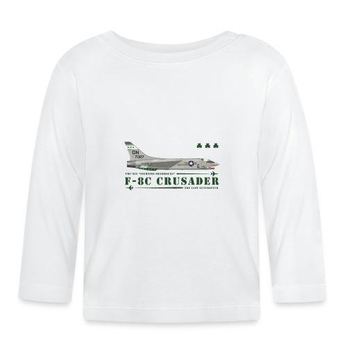 F-8C Crusader VMF-333 - Baby Long Sleeve T-Shirt