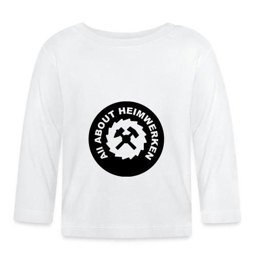 ALL ABOUT HEIMWERKEN - LOGO - Baby Langarmshirt