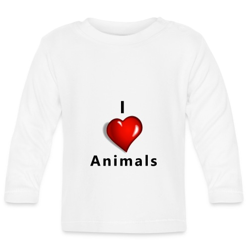 i love animals - T-shirt