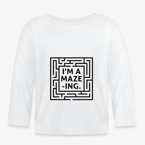 A maze -ING. Die Ingenieurs-Persönlichkeit. - Baby Langarmshirt