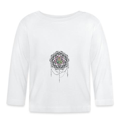 Mandala Bijou MaitriYoga - T-shirt manches longues Bébé