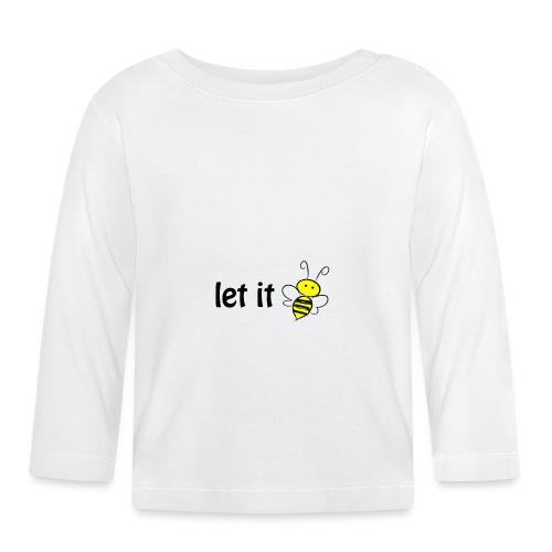 let it bee - Baby Langarmshirt