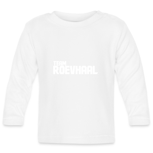 Logo White - Långärmad T-shirt baby