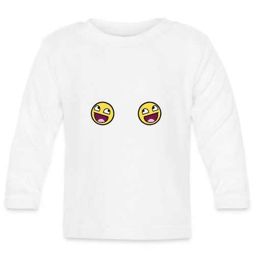 Design lolface knickers 300 fixed gif - Baby Long Sleeve T-Shirt