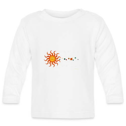 Solar System - Baby Long Sleeve T-Shirt