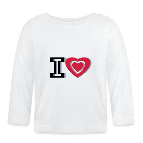 I LOVE I HEART - Baby Long Sleeve T-Shirt