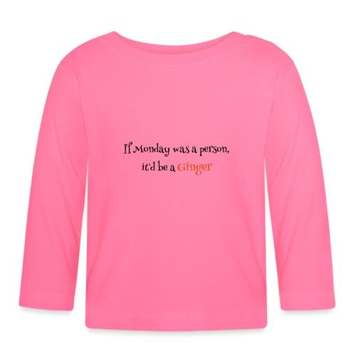 ginger1 - Vauvan pitkähihainen paita