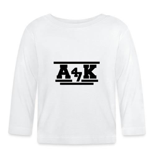 - A _K - - Baby Long Sleeve T-Shirt