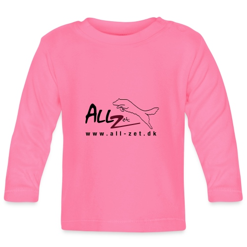 All Zet Logo - Langærmet babyshirt
