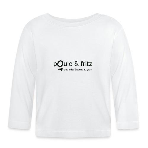 logo png - T-shirt manches longues Bébé