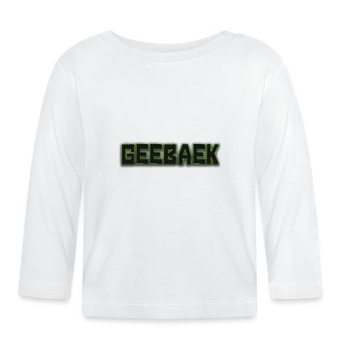 Geebaek - Langærmet babyshirt