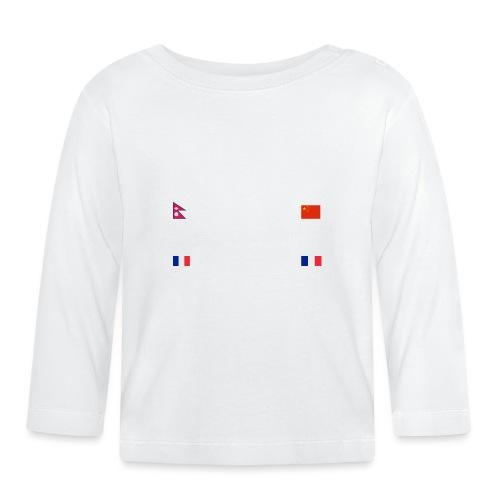 Makaluwhite - Maglietta a manica lunga per bambini