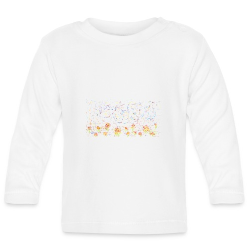 flores - Camiseta manga larga bebé