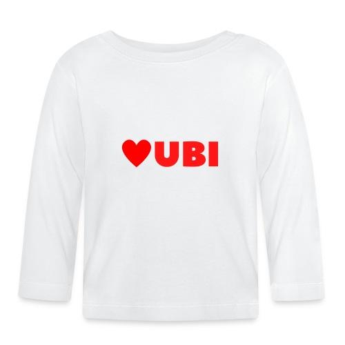 love ubi red trans - T-shirt