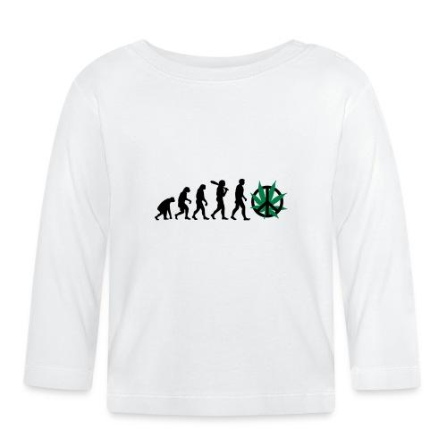 Evolution Cannabis - Baby Langarmshirt