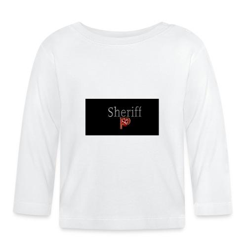 SheriffPB unisex hettegenser - Langarmet baby-T-skjorte