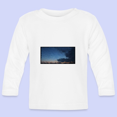 Sunset lovers - Morning tea cup - Langærmet babyshirt