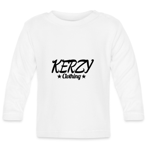 Official KerzyClothing T-Shirt Black Edition - Baby Long Sleeve T-Shirt