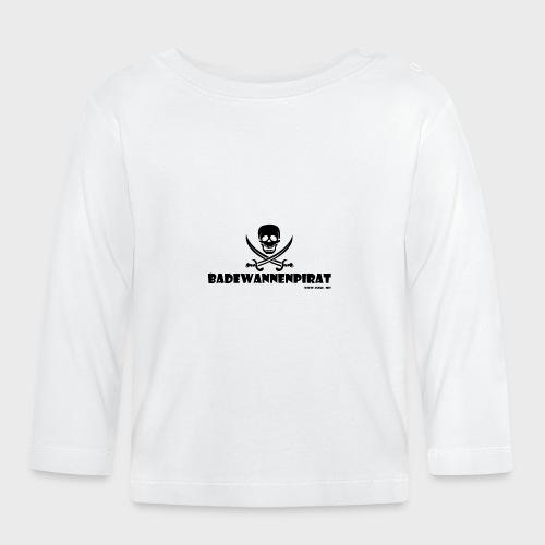 Badewannenpirat - Baby Langarmshirt