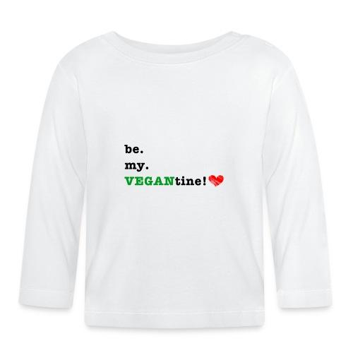 VEGANtine Green - Baby Long Sleeve T-Shirt